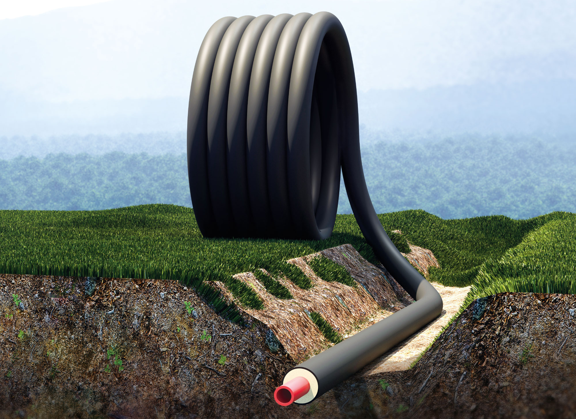 Tubi preisolati flessibili